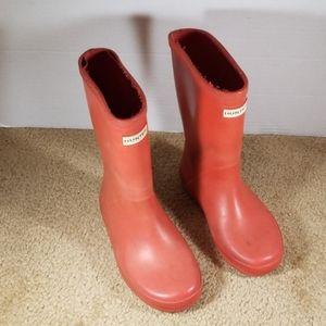 Hunter girl's rain boots